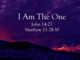 I Am The One - Names of Jesus