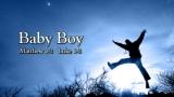 Baby Boy - Christmas Nativity