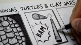 Ninjas, Turtles and Clay Jars