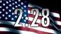 USA Flag 5 Minute Countdown HD