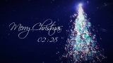 Particle Christmas Tree Countdown HD