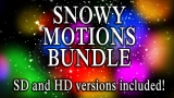 Snowy Motions Bundle - HD & SD included!