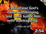 Thanksgiving Scriptures Countdown - HD