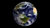 Globe - Blue Marble Center - HD & SD loops
