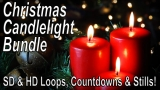 Candles of Christmas Bundle - SD & HD motions and stills included!
