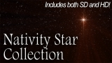 Nativity Star - Glowing Collection - SD & HD included!