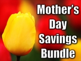 Mother's Day Yellow Tulip Bundle - SD & HD included!