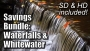 Waterfalls and Whitewater Bundle - SD & HD included!