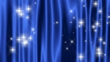 Star Curtain Blue WIDE