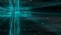 Flowing Cross Teal Loop - HD & SD Included!