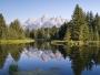 Tetons Reflection - SD & HD still