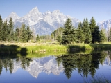 Mountains - Grand Teton Reflection - SD & HD still