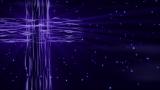 Flowing Cross Purple - SD & HD still