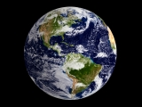 Blue Marble Earth - Western Hemisphere - SD & HD still