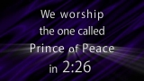Names of Christ Purple Abstract Countdown - SD & HD included!
