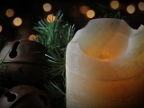 Christmas Candle and Bells Loop - SD & HD included!