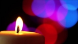 Candle and Colorful LIghts 02 Loop - SD & HD included!