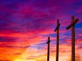 Crosses and Blazing Sky Still - SD & HD included!