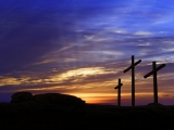 Mount Calvary Crosses Still - SD & HD included!
