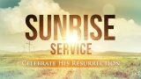 Easter Sunrise Service Still