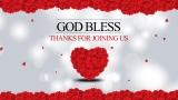 Valentine's Day God Bless Still