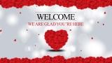 Valentine's Day Welcome Still