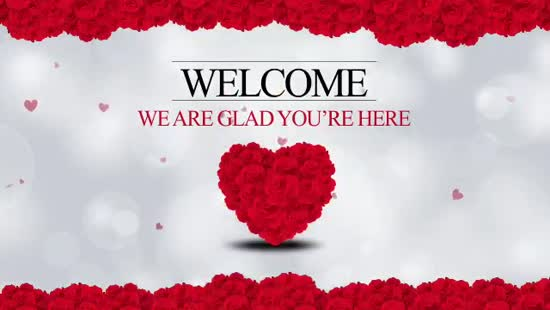 valentine u0026 39 s day welcome loop