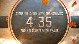 Thanksgiving Praise Countdown