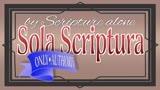 Sola Scriptura (set 1)