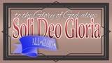 Soli Deo Gloria (set 1)