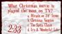 Christmas Movie Trivia Countdown