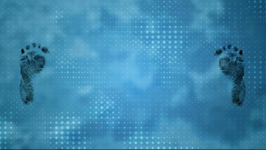 Baby Feet Blue Backdrop Videos2worship