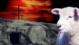 Lamb Cross And Empty Tomb