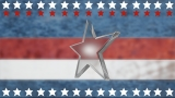 Patriotic Star Motion Background