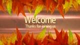 Fall Welcome Still Slide