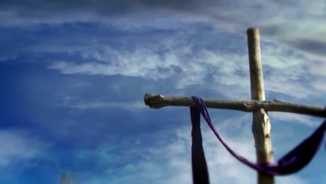 cross with draped cloth videos2worship sermonspice