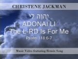 ADONAI Li (The LORD is for ME) from Ps 118