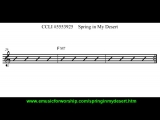 Spring In My Desert (Lead Sheet Video) eMedia for Worship