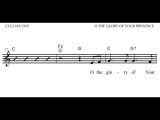 O The Glory of Your Presence (Lead Sheet Video) eMedia for Worship