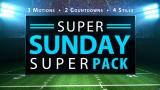 Super Sunday Super Pack