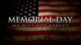 Memorial Day Grunge USA Flag