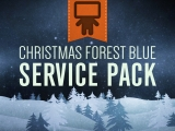 Christmas Forest Blue Service Pack