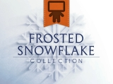 Frosted Snowflake Collection