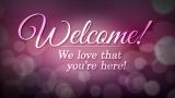 Lovely Bokeh Welcome Still