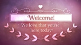 Sacred Love Welcome Still