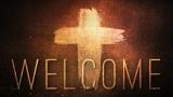Glowing Cross Welcome Still