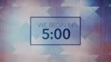 Clouded Window Countdown
