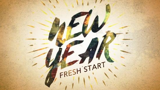 New Year Fresh Start Still 1 | Playback Media | SermonSpice