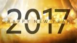 Golden New Year 2017 Still