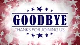 USA Holiday Grunge Closing Motion